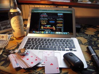 オンラインカジノのアカウント
